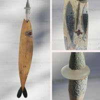 Two Fish Fish | Driftwood Fish | Laurence Henry